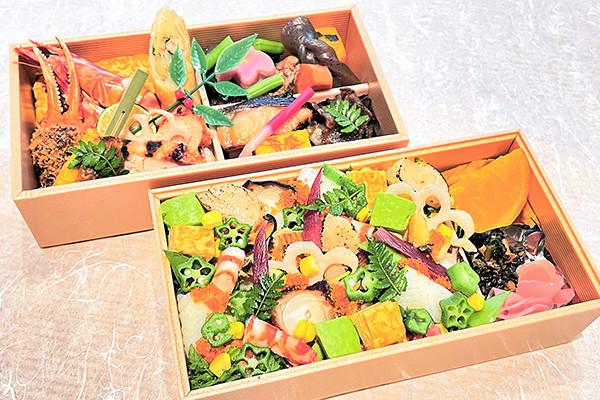 弁慶オリジナル涼海ちらし寿司二段弁当