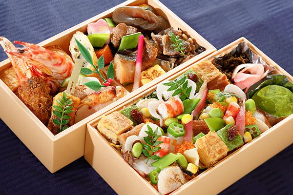 【一日限定20食】弁慶オリジナル涼海ちらし寿司二段弁当