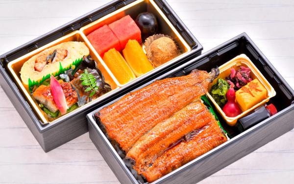 日本料理「弁慶」九州産鰻重弁当段
